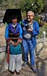 2. Chiny, kobieta z plemienia Yi