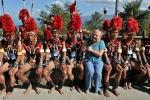 3. Nagaland, Indie, plemię Konyak