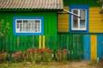 4. Kolorowe domy dają dużo optymizmu w dość ciężkim życiu tamtejszych mieszkańców