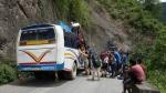 3. Transport ze stolicy do wioski, 80km - 16h.
