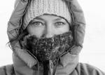 2. Ilona Wiśniewska wiosną na Spitsbergenie