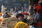Targ kwiatowy w Kalkucie